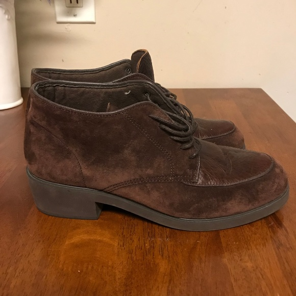 12bf5f177f402 Hush Puppies Shoes | Suede And Leather Boots Size 8 | Poshmark